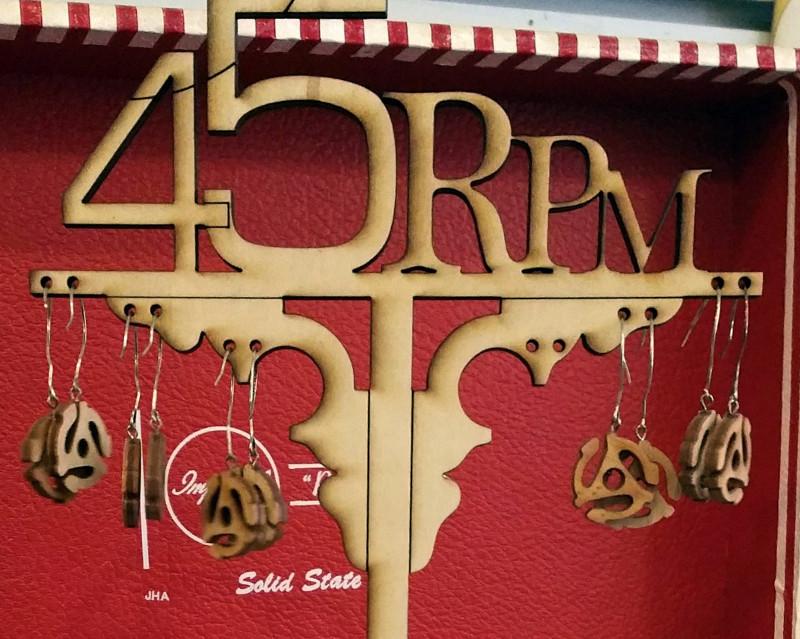 45RPM_Earrings