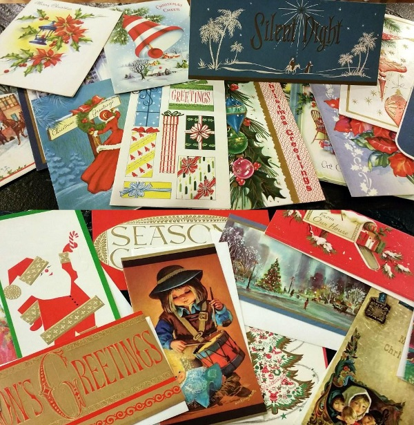 Vintage Christmas Holiday Cards