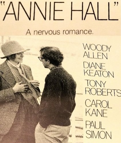 "Original ""Annie Hall"" theater Poster"