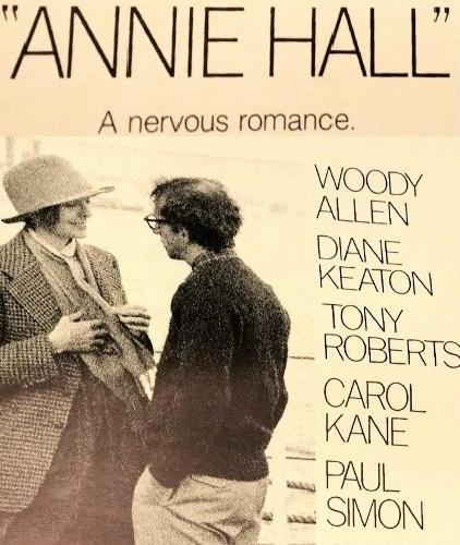 "Original ""Annie Hall"" theater Poster"
