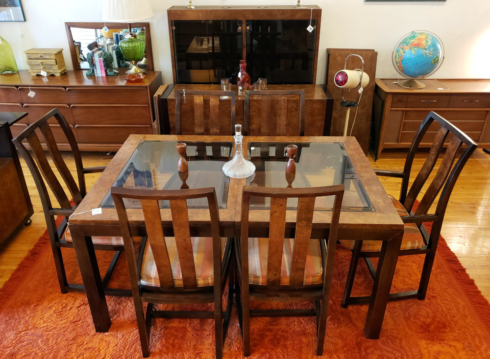 Post Modern Dining Table Chair Set by Century Furn