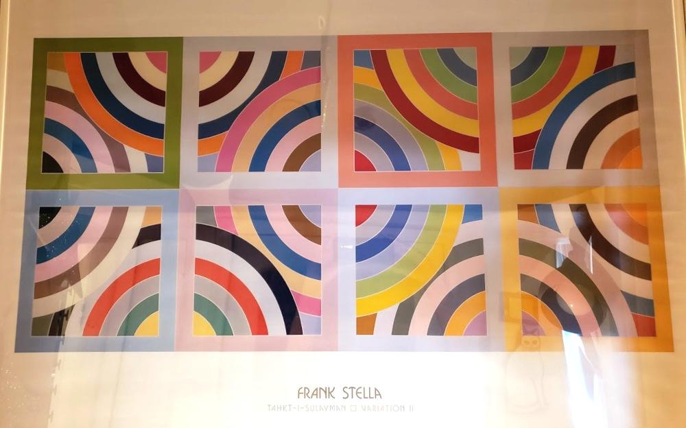 Frank Stella, Variation II, Print
