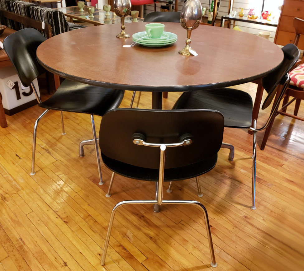 Herman Miller DCM Chairs and Small Conference Table