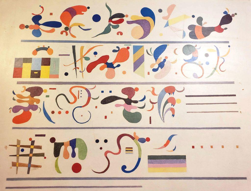 Kandinsky Poster, Professionally Framed