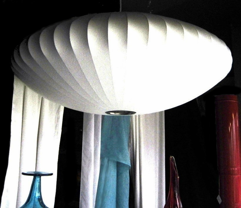 #GeorgeNelsonBubbleLamp (2 Lg Saucers Available)
