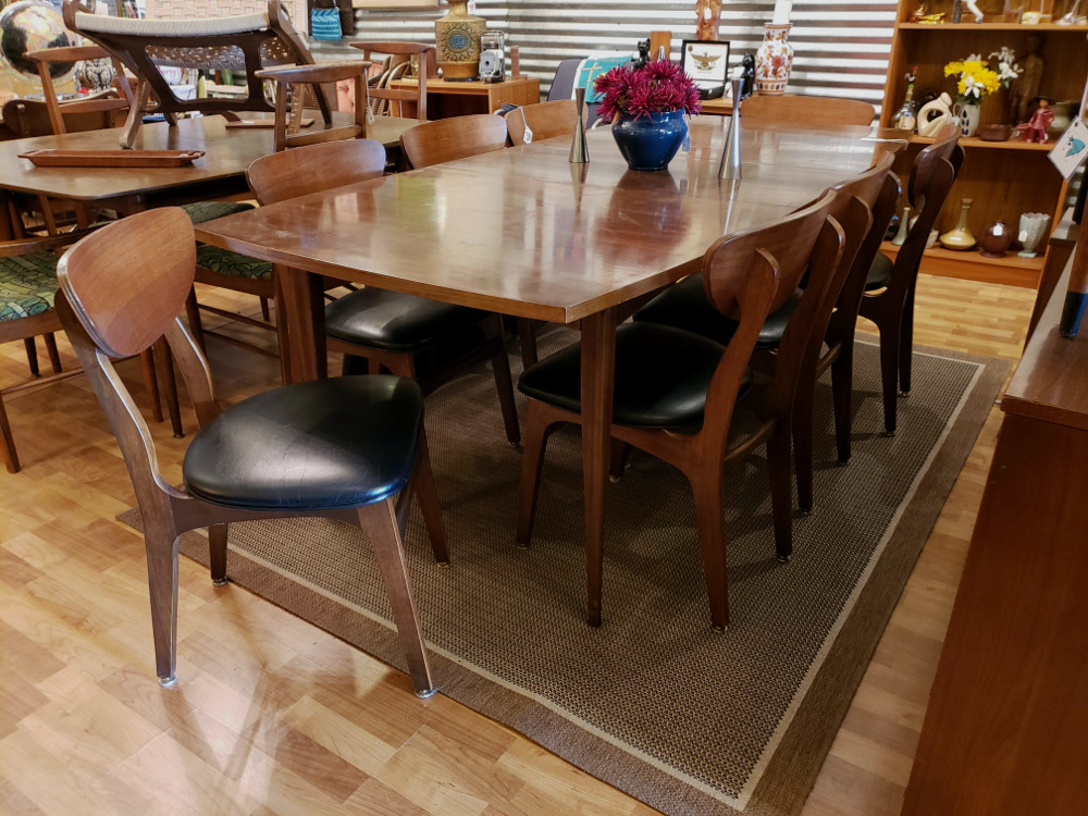 MCM Dining Set w/8 Chairs