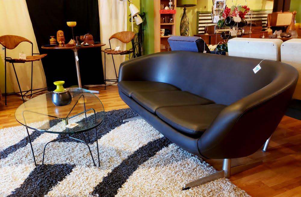 Vintage Danish Modern Overman Sofa