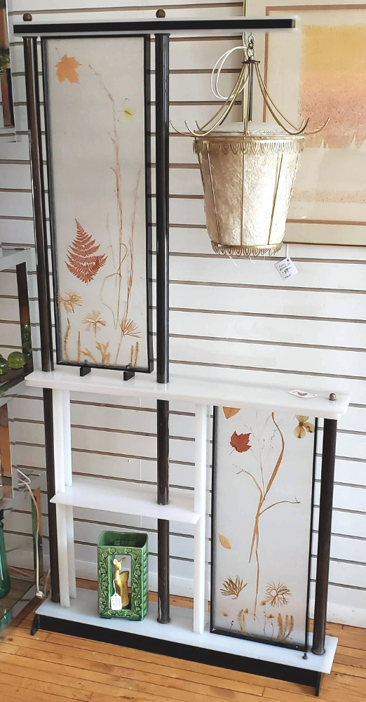RARE vintage Room Divider floor Lamp by Moss