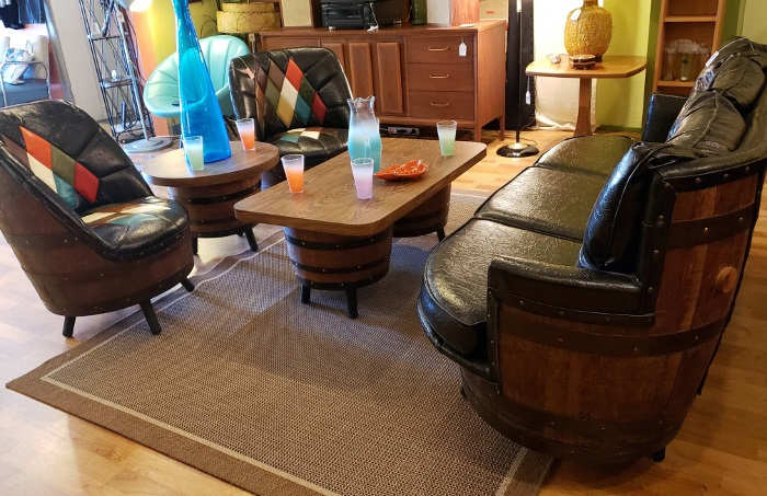 Living Room Coffee Tables Bars Boomerang Room