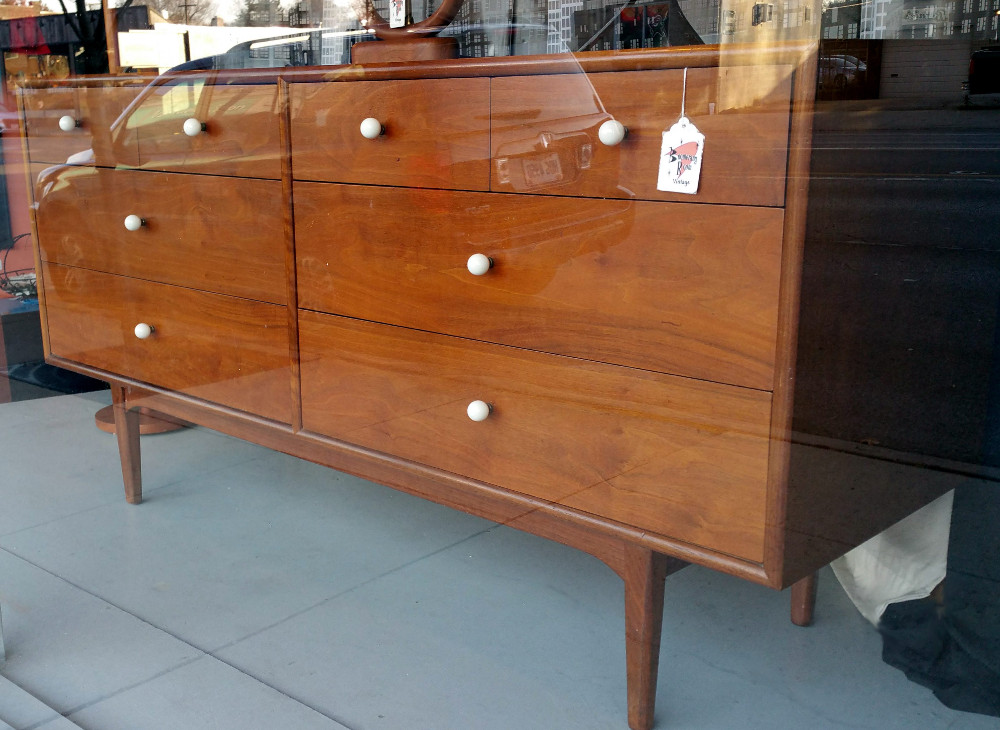 'Declaration' Dresser w/mirror by Drexel: SOLD