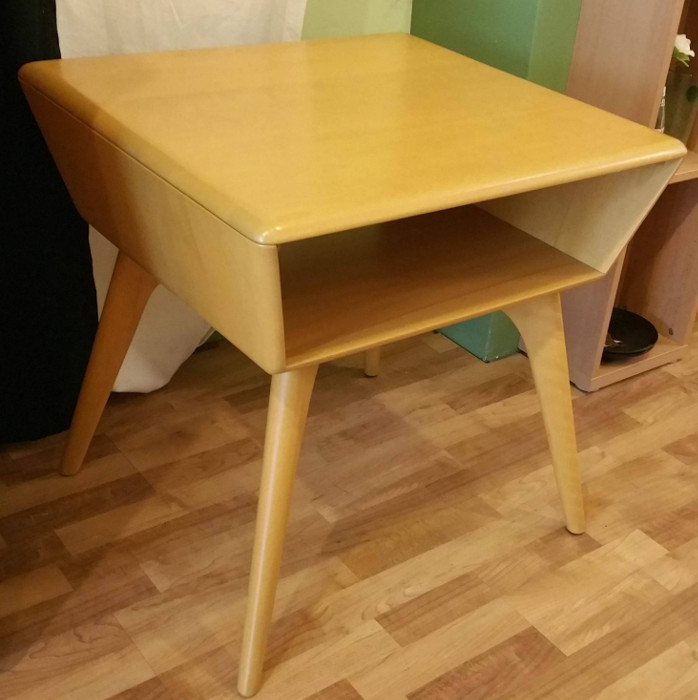 Heywood-Wakefield TV/ Media Lamp Table SOLD
