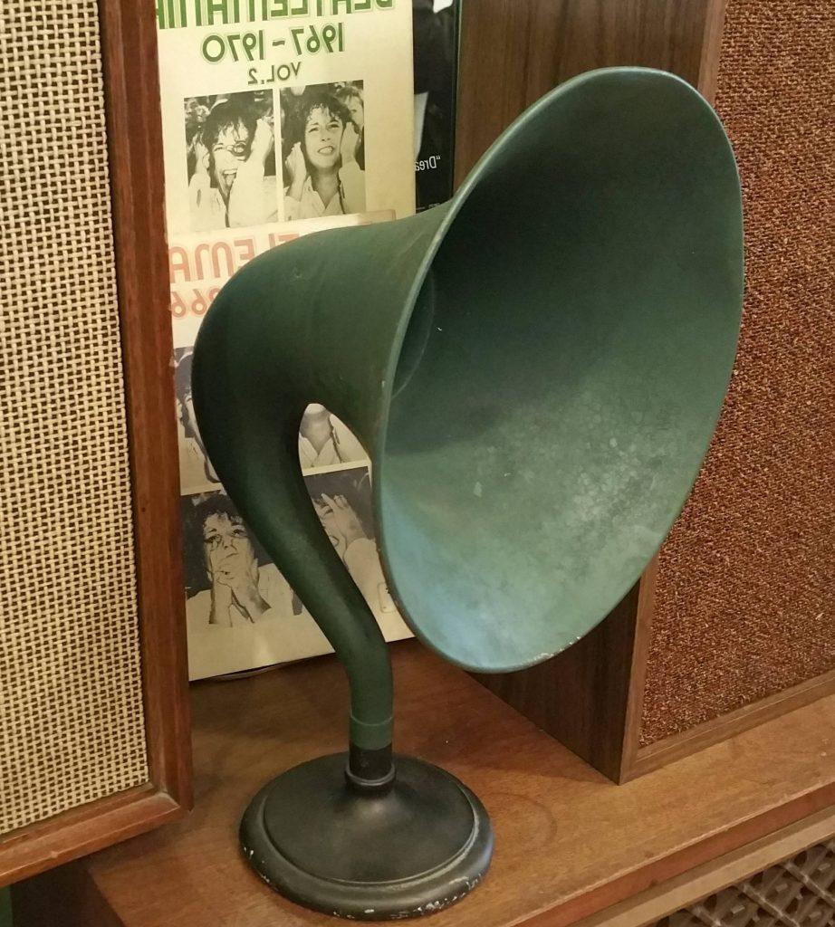 vintage Gramophone / Victrola speaker