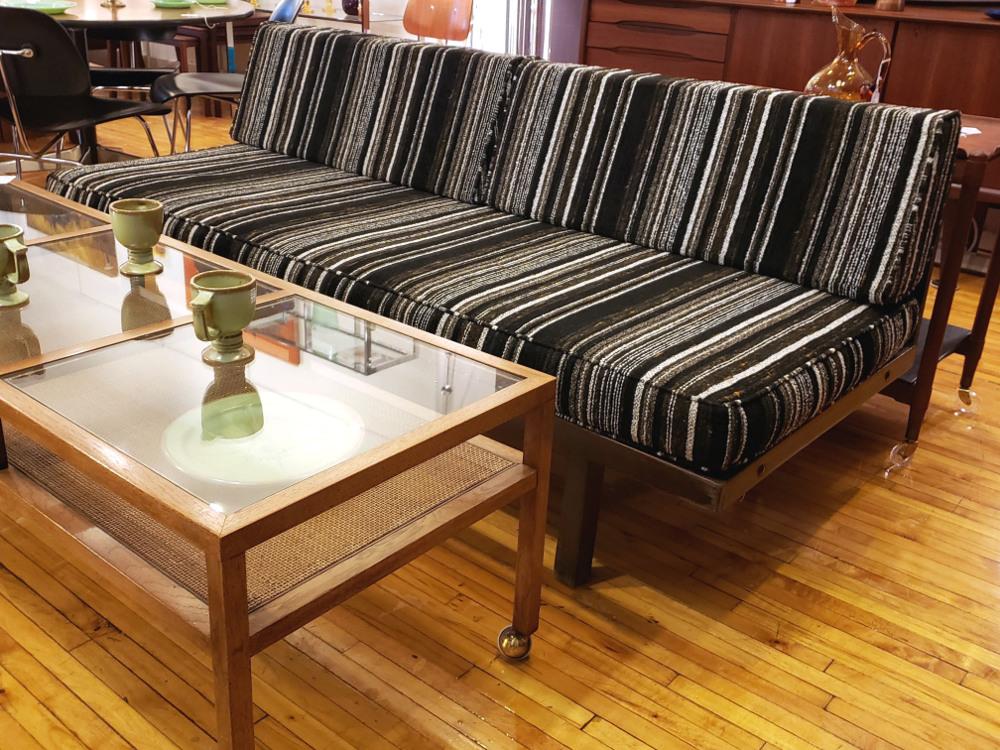 Mid Century Mod Platform Sofa