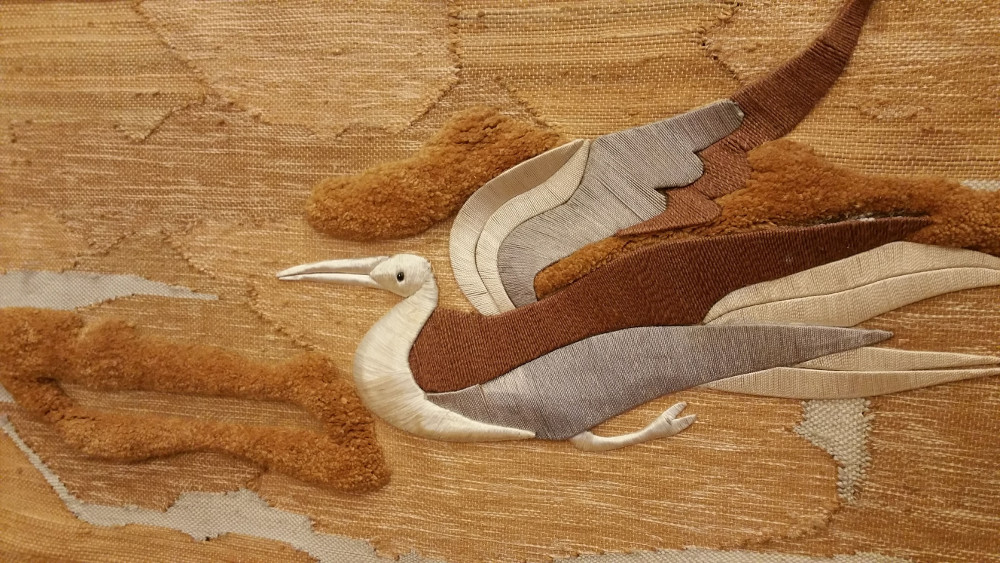 MCM Bird Tapestry