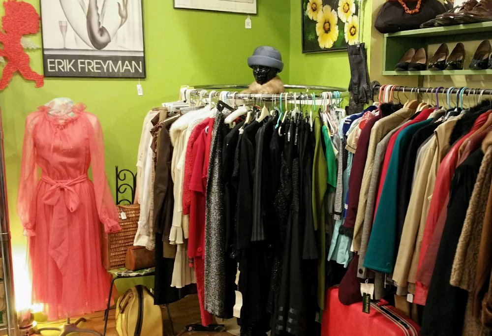 variety of Women's & Men's   clothing